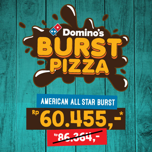 Diskon 30% American All Star Cheese Burst