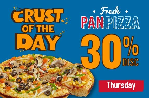 CRUST OF THE DAY - THURSDAY