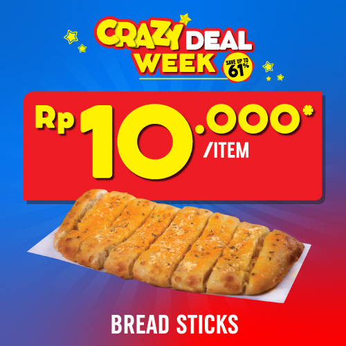 1 Bread Sticks 10 Ribu