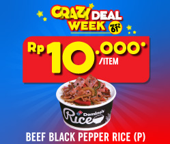 1 Personal Black Pepper 10 Ribu