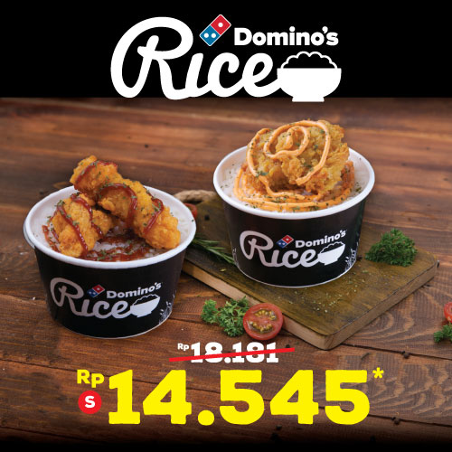 Diskon 20% Small Chicken Baked / Strips Rice