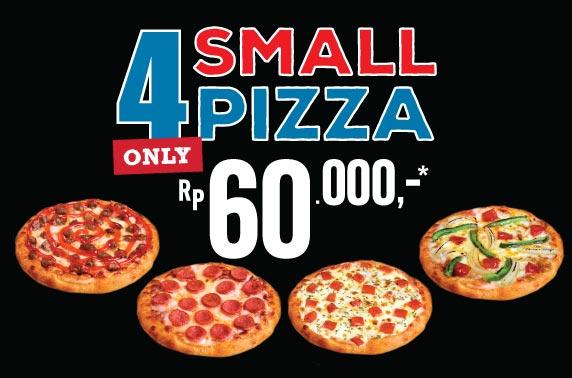 4 SMALL HT PIZZA HANYA 60K