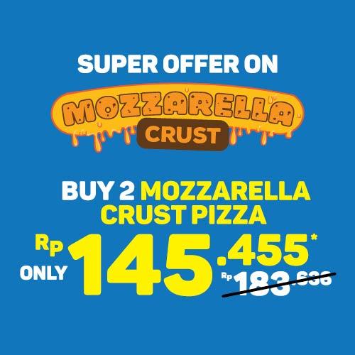 2 Medium Mozzarella Crust 145K