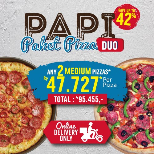 PAKET PIZZA DUO