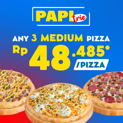 Paket Pizza Trio
