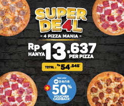 4 Personal Pizza 54K Only