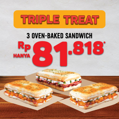 Triple Treat Sandwich Deal