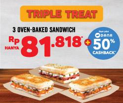 Triple Treat Sandwich Deal