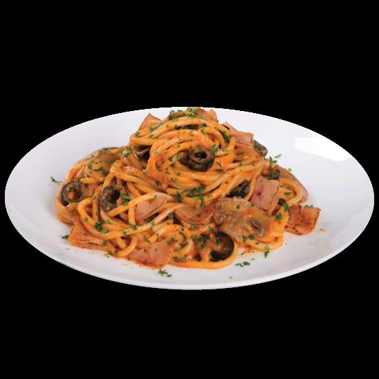Chicken Creamy Spaghetti