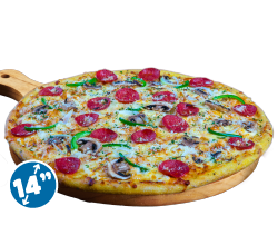 New! Cheesy Pepperoni Special