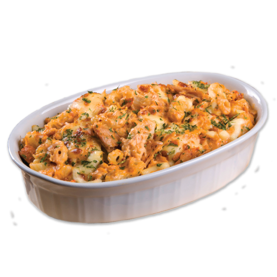 Spicy Tuna Mac'N Cheese