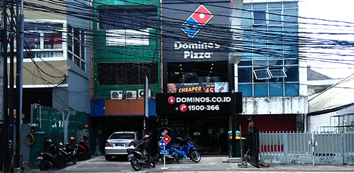 Store Finder Domino S Pizza Indonesia